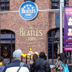 The Beatles Story entrance
