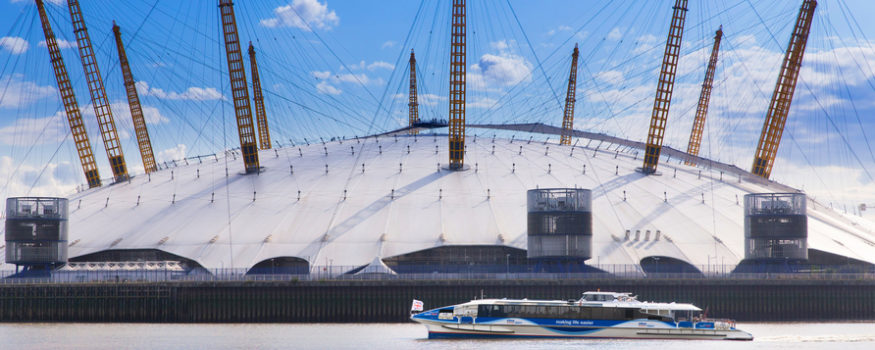 MBNA Thames Clippers Aurora at The O2