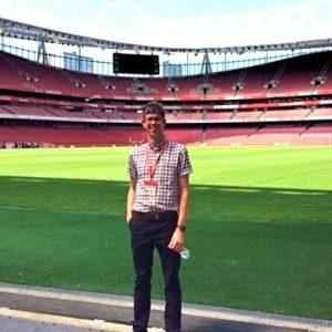 Andrew Bright Emirates Stadium Tour