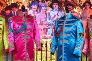 Sgt Pepper suits at The Beatles Story