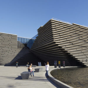 V&A Dundee opens to public