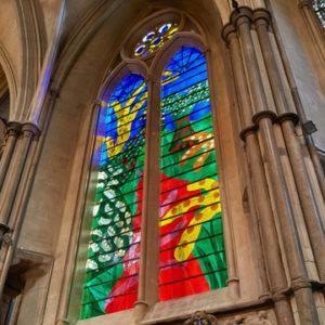 Westminster Abbey Queen's Window David Hockney