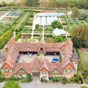 Eythrope walled garden tour Waddesdon Manor