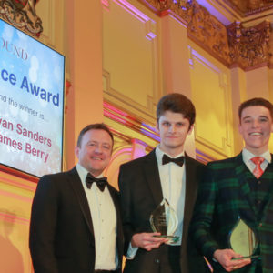 UKinbound Young Excellence Award winners James Berry Ryan Sanders