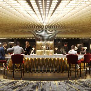 Hard Rock Hotel London lobby bar