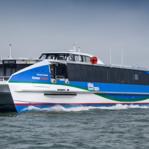 MBNA Thames Clippers launch new vessel Venus Clipper