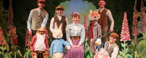 Where is Peter Rabbit hops to London's West End