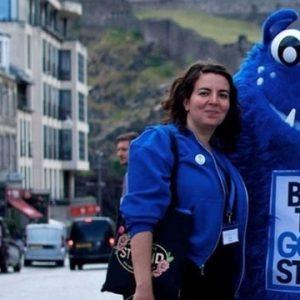 Geotourist social enterprise tour Edinburgh