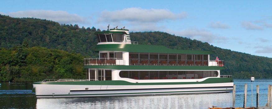 Windermere Lake Cruises new boat MV Swift