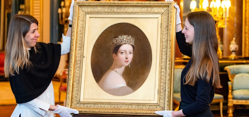 Queen Victoria Buckingham Palace exhibition Thomas Sully portrait
