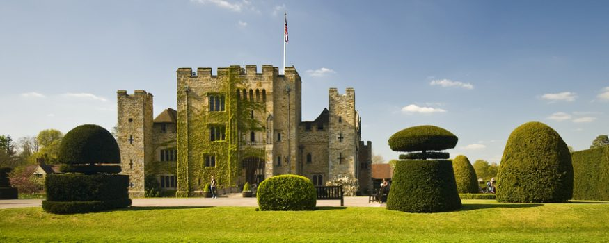 Hever Castle on screen and stage exhibition