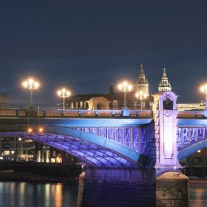 MBNA Thames Clippers Illuminated London tours