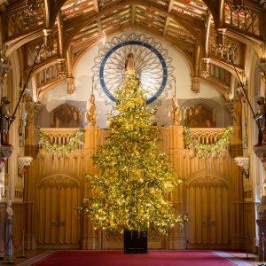 Christmas royal residences