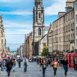 Geotourist Edinburgh Social Enterprises tour