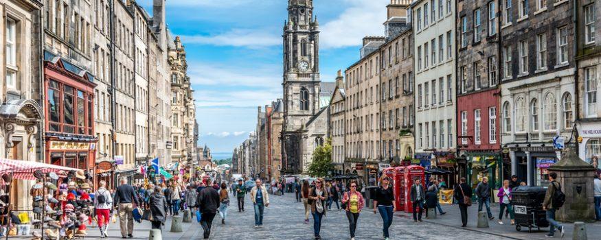 Geotourist Edinburgh Social Enterprises tour