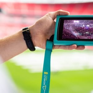 Wembley Stadium Tour interactive guide