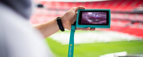 Wembley Stadium Tour interactive guide