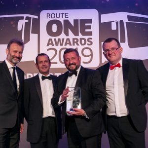 The Kings Ferry Group win Large Coach Operator of the Year