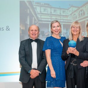 The Romans Bath had won 3 Gold Awards at the BBS Tourism Awards