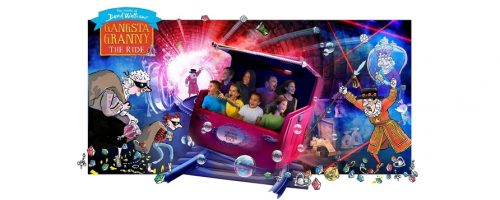 Alton Towers to launch Gangsta Granny: The Ride in Spring