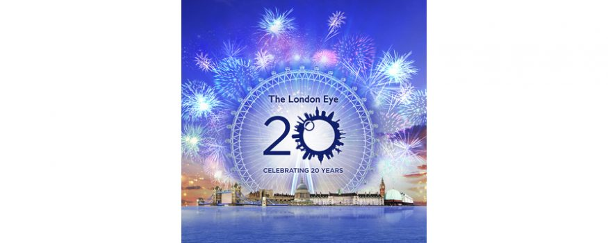 lastminute.com London Eye to celebrate its 20th birthday