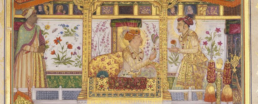 Payag, Painting from the Padshahnama manuscript ('Book of Emperors'), c.1630-55
