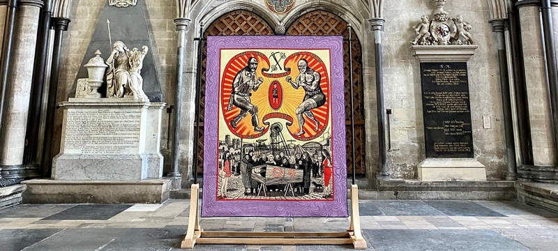 Salisbury Cathedral virtual art