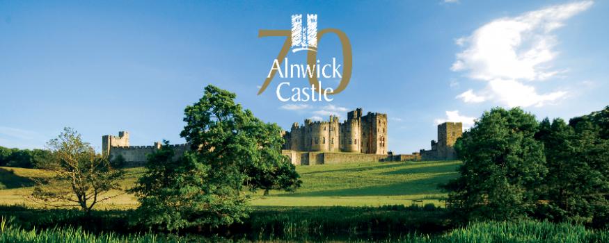 Alnwick Castle 70th anniversary