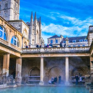 Roman Baths reopen