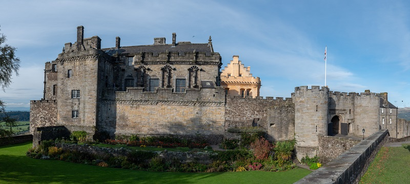 Scotland heritage sites stirling castle