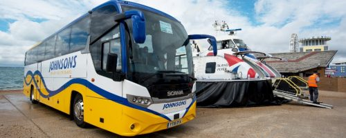 Hovertravel groups Johnsons coaches