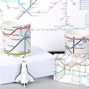 Night Sky London Tube Map
