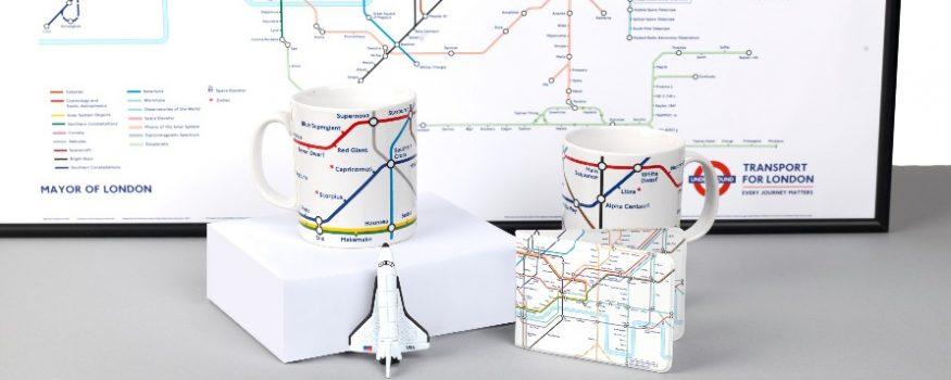 Night Sky London Tube Map