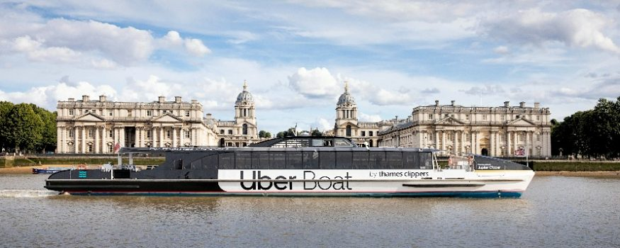 Uber Boat Thames Clippers