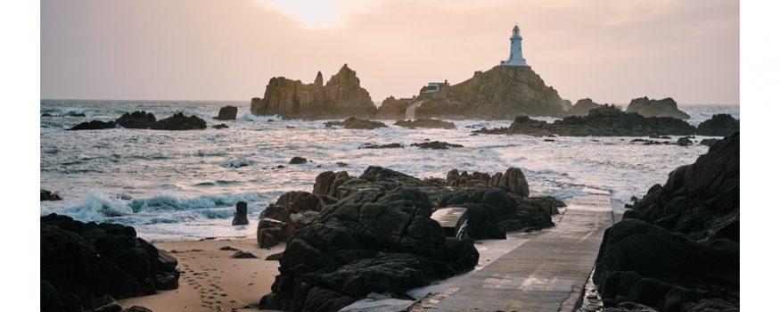 Jersey coast lighthouse