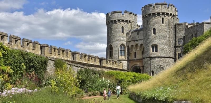 Windsor Castle Moat Garden