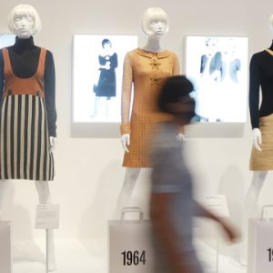 Mary Quant exhibition V&A Dundee