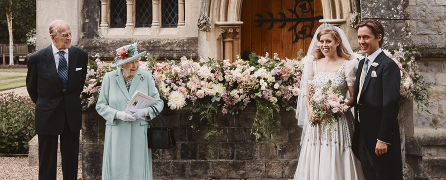 Princess Beatrice wedding day