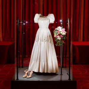 Princess Beatrice of York's wedding dress goes on display at Windsor Castle