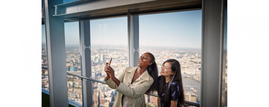 The View from The Shard won Best UK Attraction Award