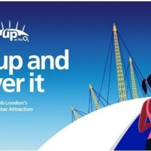 Up at the O2 campaign