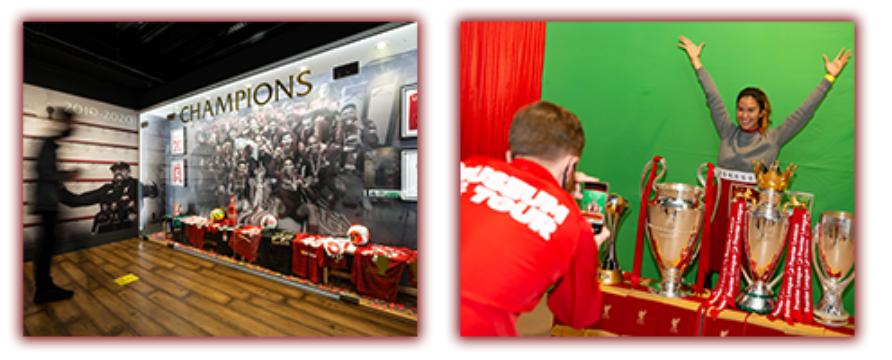LFC Trophy Exhibition Room