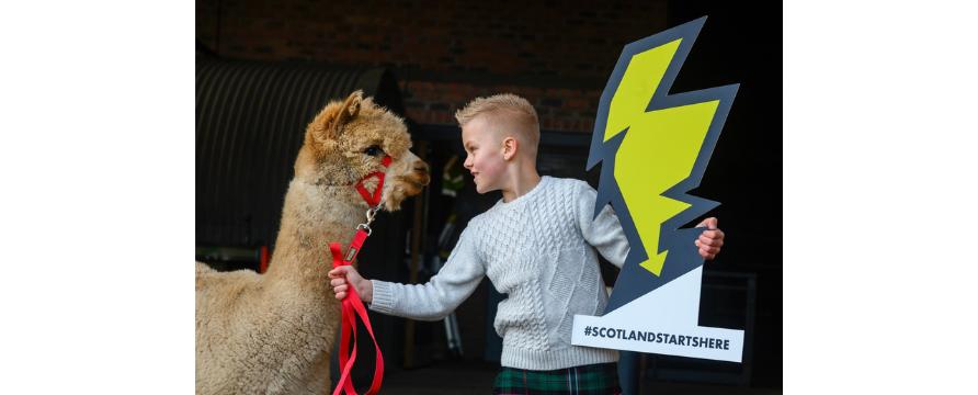 Scotland Starts Here launch image