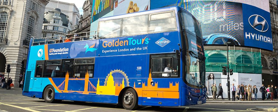 Golden Tours introduces new private open-top bus tours