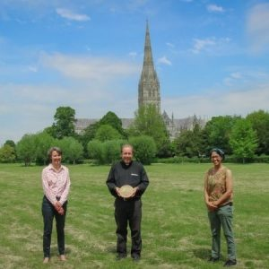 Salisbury Cathedral becomes the first cathedral in the country to receive an Eco-Church Gold award