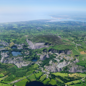 The Nantlle Valley Slate Quarry Landscape